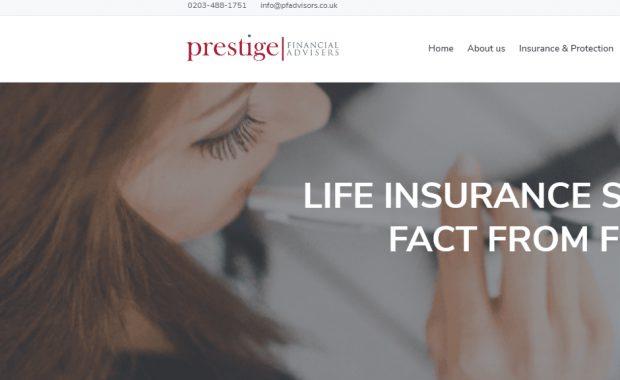 pfadvisors.co.uk – Strona agencji ubezpieczeniowej w UK