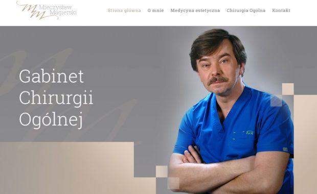 Nowoczesna strona gabinetu medycyny estetycznej